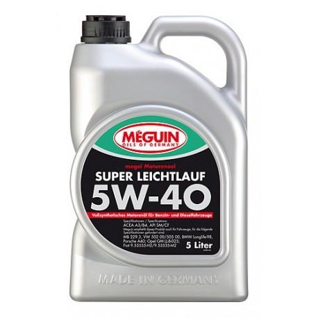 Olej silnikowy Meguin Super Leichtlauf SAE 5W-40 4L