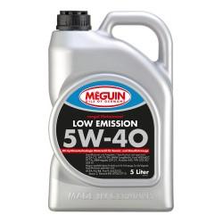 Olej silnikowy Meguin Low Emission SAE 5W-40 4L