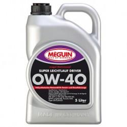 Olej silnikowy Meguin Super Leichtlauf Driver SAE 0W-40 4L