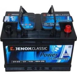 Akumulator Jenox Classic 74Ah 680A 12V P+