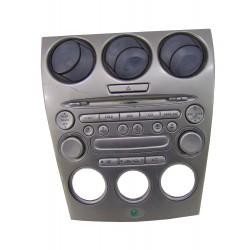 Panel sterowania klimatyzacji z radiem Mazda 6 GJ6R