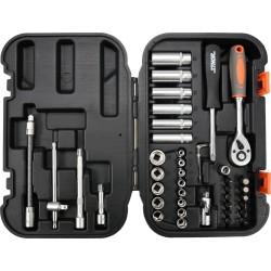 """Zestaw narzędziowy 1/4"""" 42 części XS STHOR 58641"""