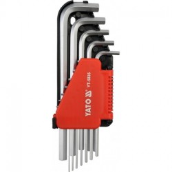 Zestaw kluczy imbusowych 12 części YATO YT-5835